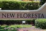 New Floresta community sign